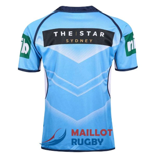 NSW blues rugby maillot bleu 2017