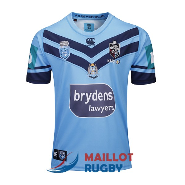 NSW blues rugby maillot domicile 2019