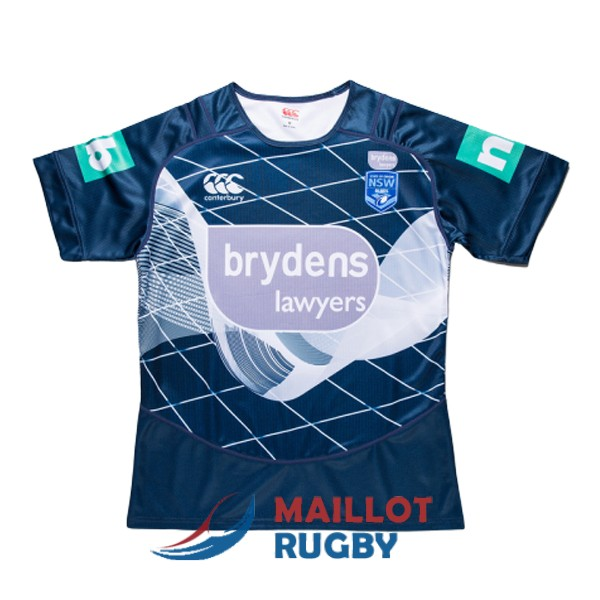 NSW blues rugby maillot entrainement 2018-2019