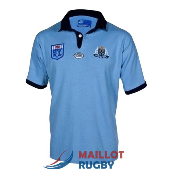 NSW blues rugby maillot rerto 1985 [MY-20-9-25-177]
