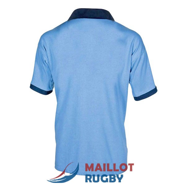 NSW blues rugby maillot rerto 1985