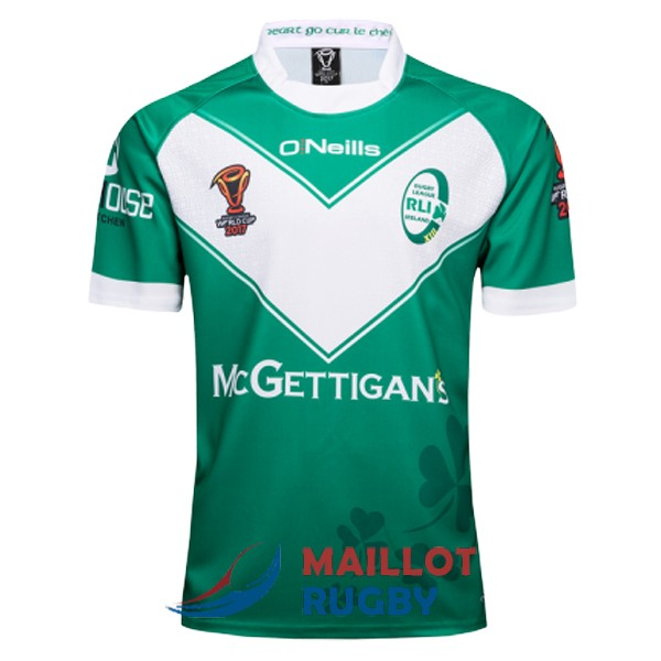 RLI irlande rugby maillot RLWC domicile 2017 [MY-283]
