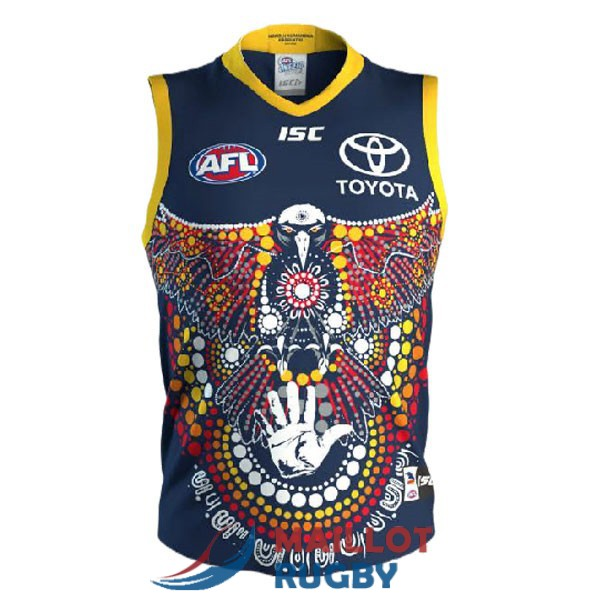 adelaide crows AFL Guernsey maillot indigenous 2020-2021
