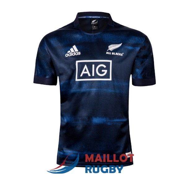 all blacks rugby maillot domicile 2019-2020