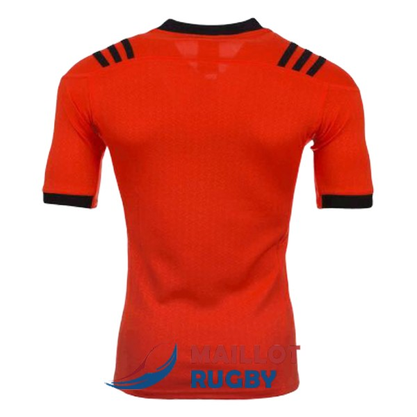 all blacks rugby maillot entrainement rouge noir B 2017