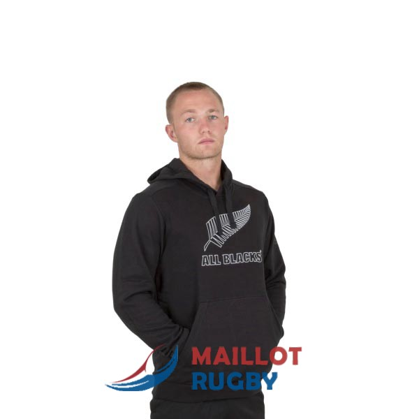 all blacks rugby sweat a capuche noir 2019