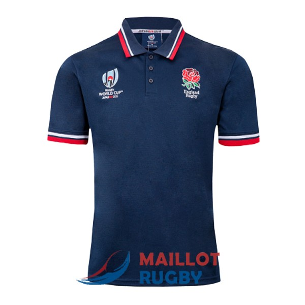 angleterre rugby polo bleu fonce 2019