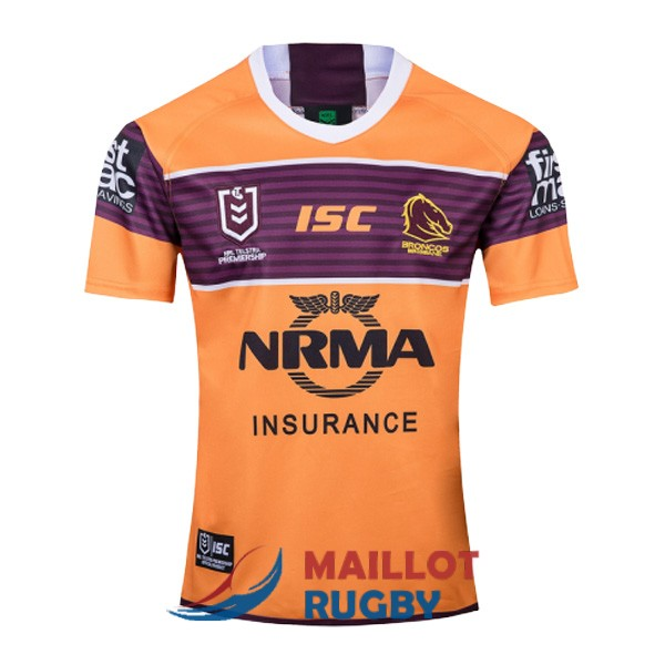 brisbane broncos rugby maillot exterieur 2019 [MY-25]