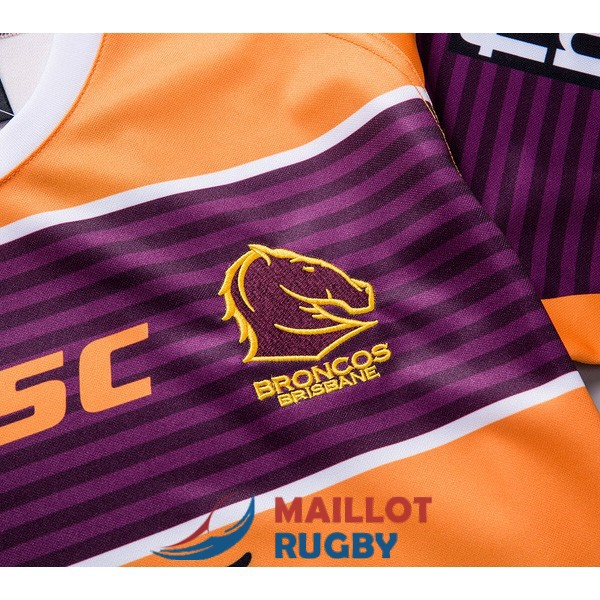 brisbane broncos rugby maillot exterieur 2019<br /><span class=