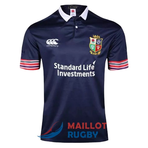 british irish lions rugby maillot entrainement bleu 2017