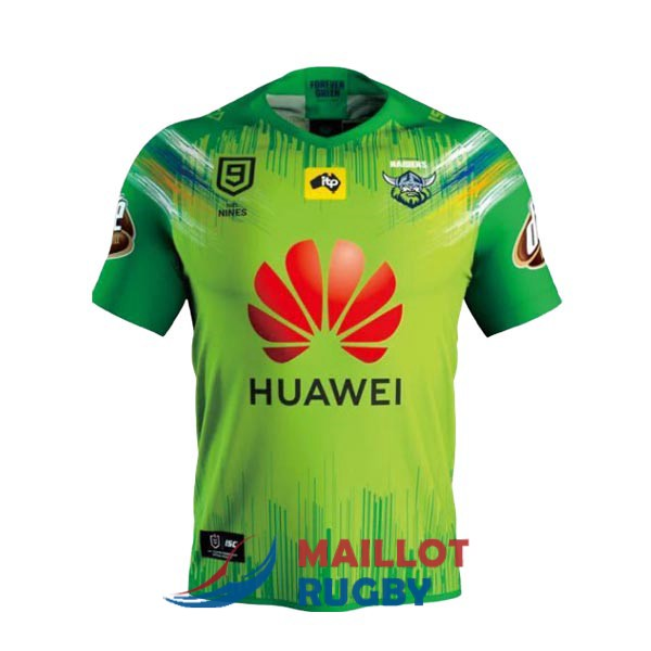 canberra raiders 9s rugby maillot domicile 2020