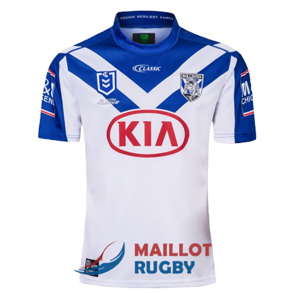 canterbury bankstown bulldogs rugby maillot domicile 2019