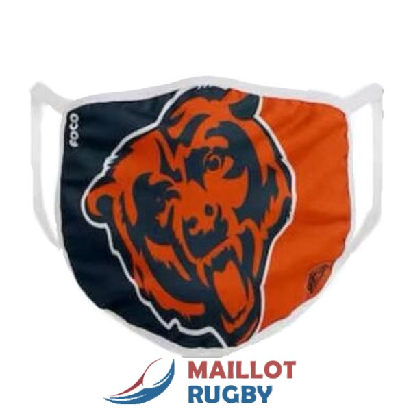 chicago bears masques blanc orange noir