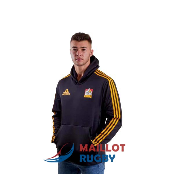 chiefs rugby sweat a capuche noir 2019 [MY-469]