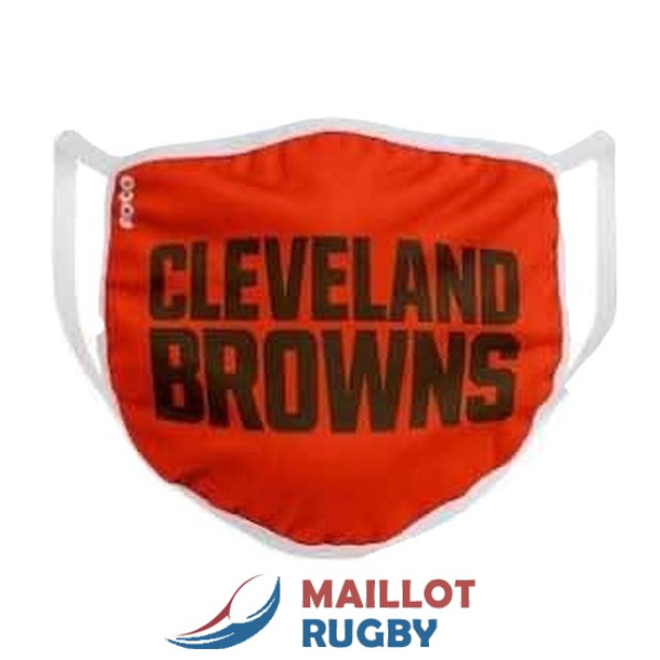cleveland browns masques noir rouge