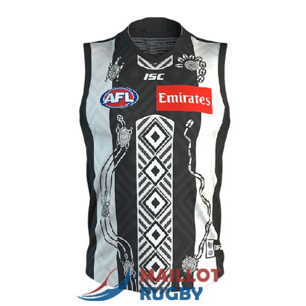 collingwood AFL Guernsey maillot indigenous 2020-2021