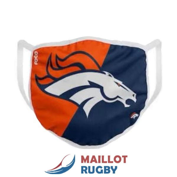denver broncos masques bleu orange blanc