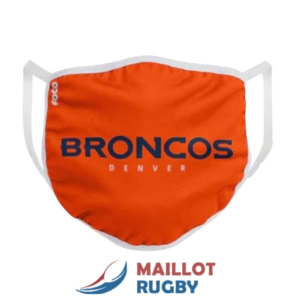denver broncos masques noir orange