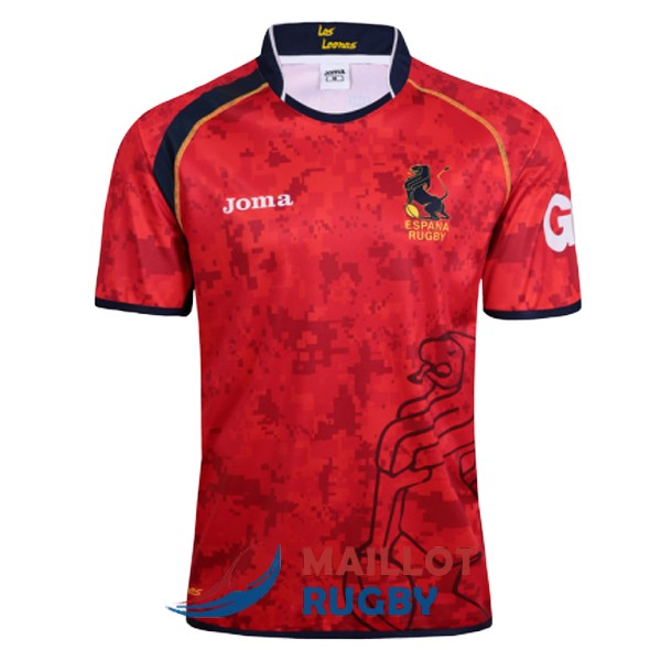 espagne rugby maillot domicile 2017