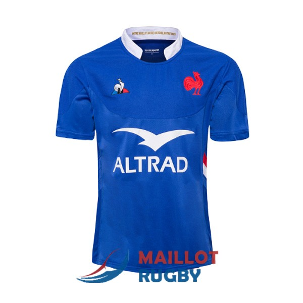 france rugby maillot domicile 2019-2020