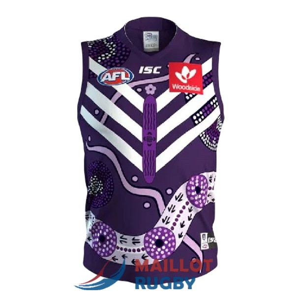 fremantle dockers AFL Guernsey maillot indigenous 2020-2021 [MY-20-9-25-12]
