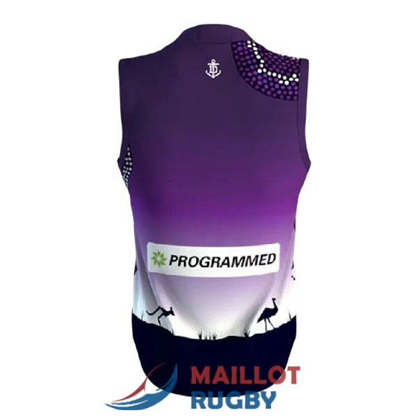 fremantle dockers AFL Guernsey maillot indigenous 2020-2021<br /><span class=