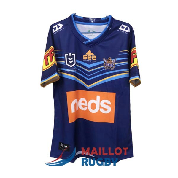 gold coast titans rugby maillot domicile 2020-2021