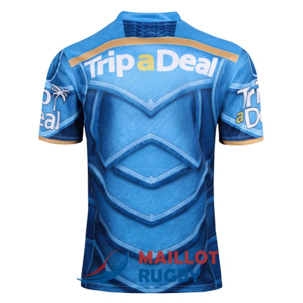 gold coast titans rugby maillot edition special territoire gold coast 2017-2018