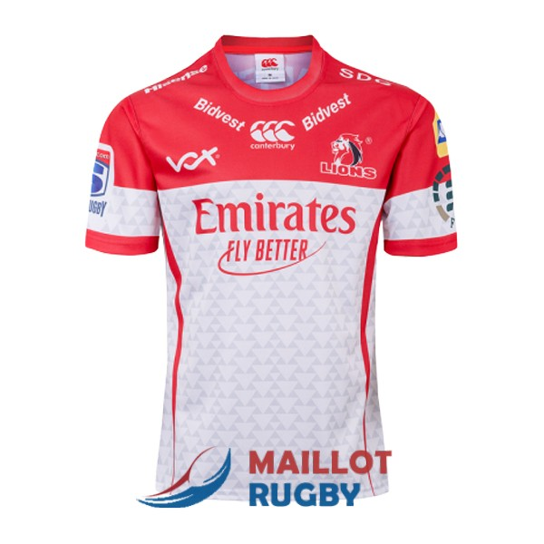 golden lions rugby maillot domicile 2019