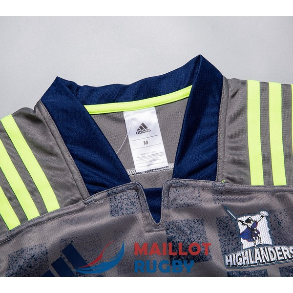 highlanders rugby maillot entrainement 2018-2019