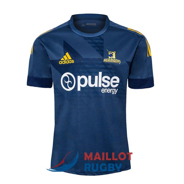 highlanders rugby maillot entrainement 2020-2021
