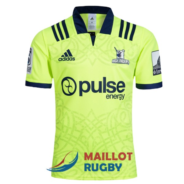 highlanders rugby maillot exterieur 2018
