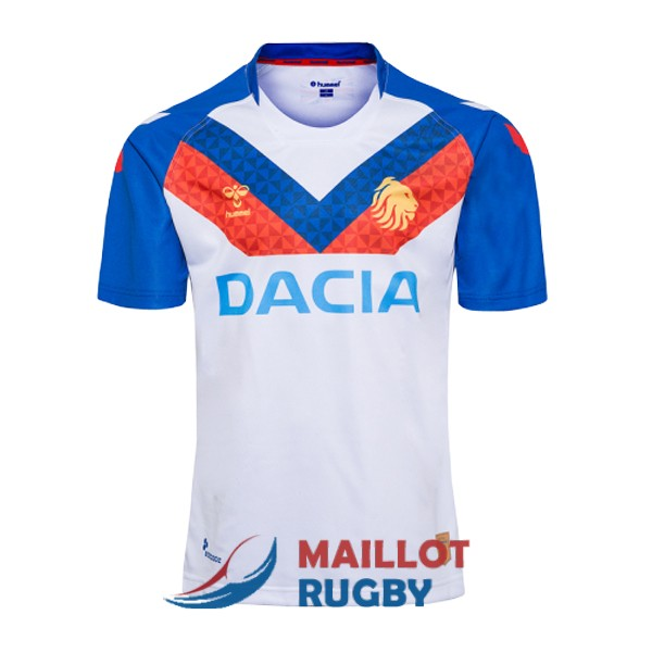 hummel great british lions rugby maillot domicile 2019-2020