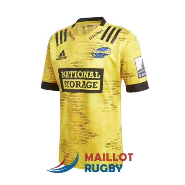 hurricanes rugby maillot domicile 2020