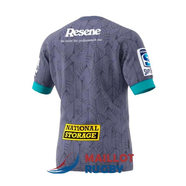 hurricanes rugby maillot exterieur 2020
