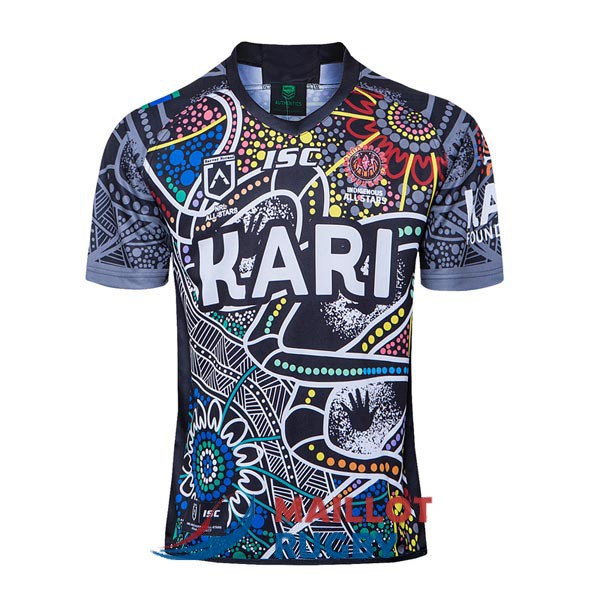 indigenous all stars rugby maillot camouflage 2020