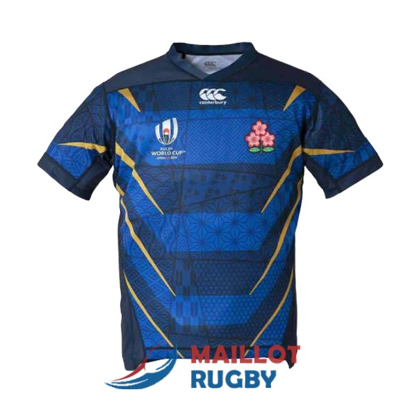 japon rugby maillot exterieur 2019