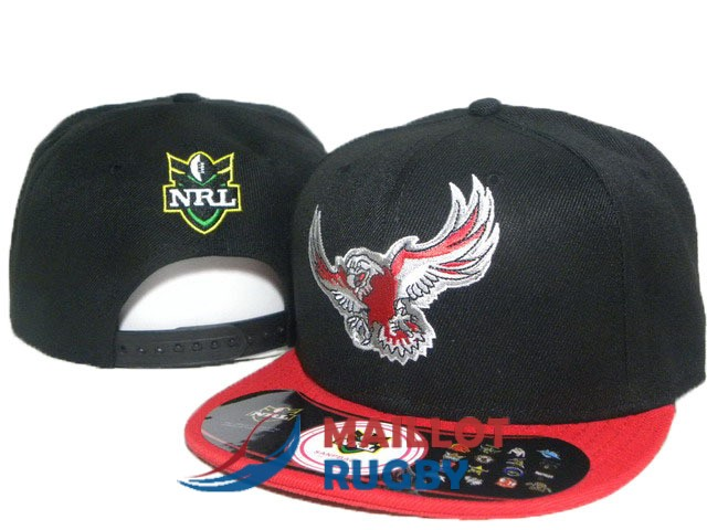 manly sea eagles NRL casquettes noir rouge