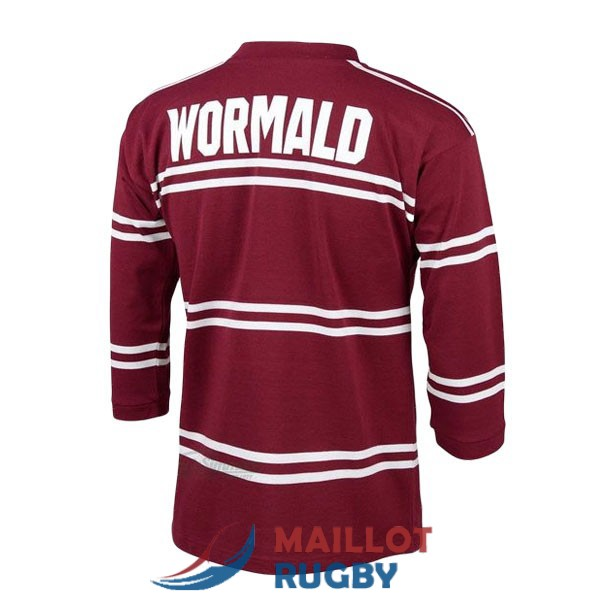 manly sea eagles rugby maillot manches longue rerto 1987
