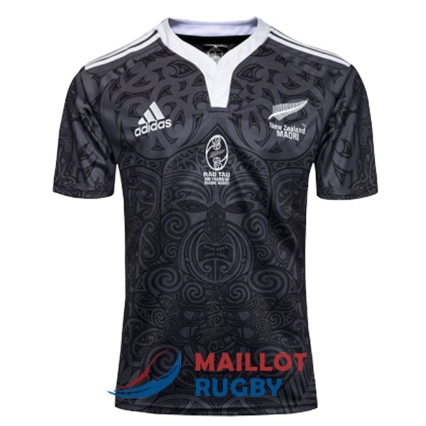 maori all blacks rugby maillot 100anniversaire commemorative 2019