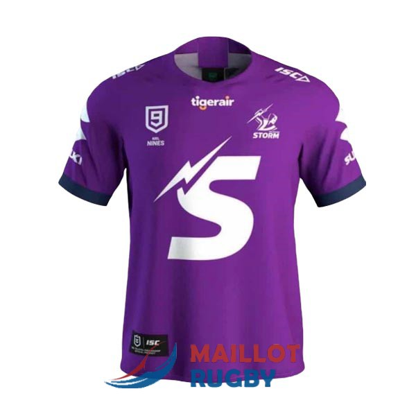 melbourne storm 9s rugby maillot violet 2020 [MY-64]