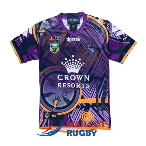 melbourne storm rugby maillot commemorative 2018