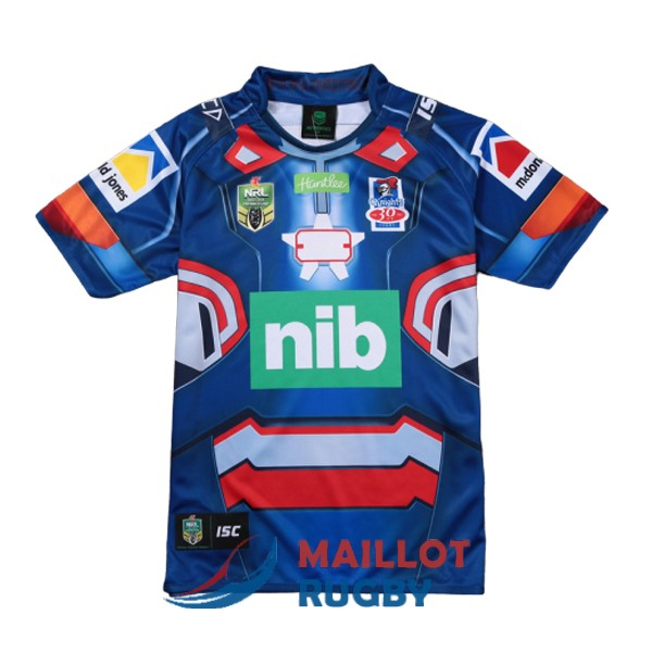 newcastle knights rugby maillot edition special territoire iron patriot marvel 2017