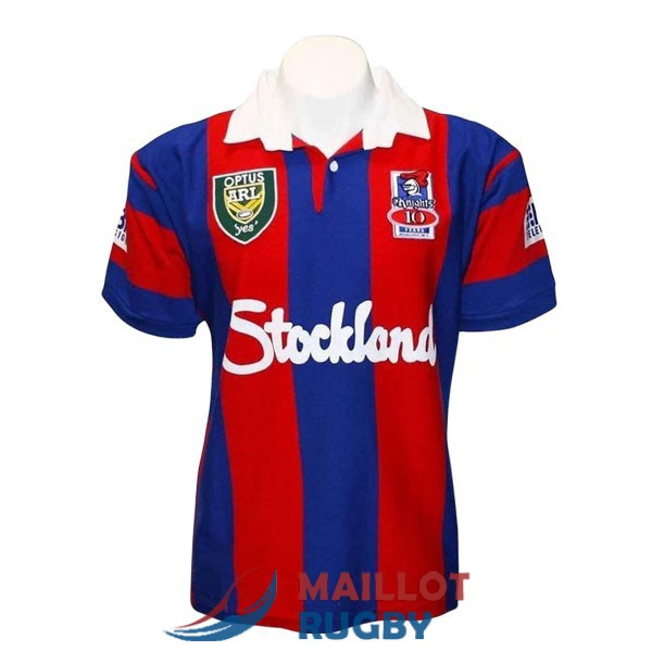newcastle knights rugby maillot rerto 1997