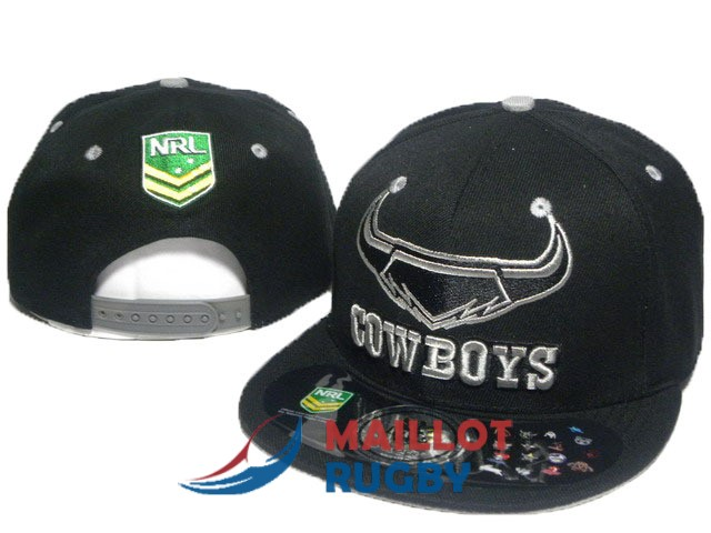 north queensland cowboys NRL casquettes noir [MY-216]