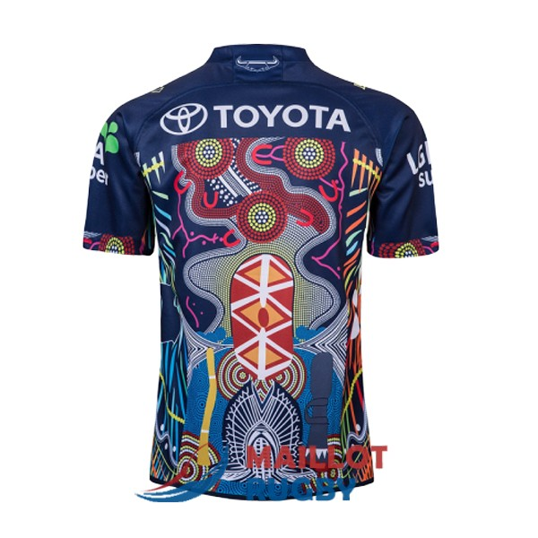 north queensland cowboys rugby maillot commemorative 2019