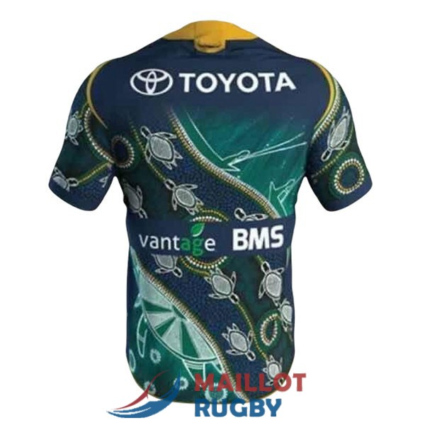 north queensland cowboys rugby maillot commemorative 2021