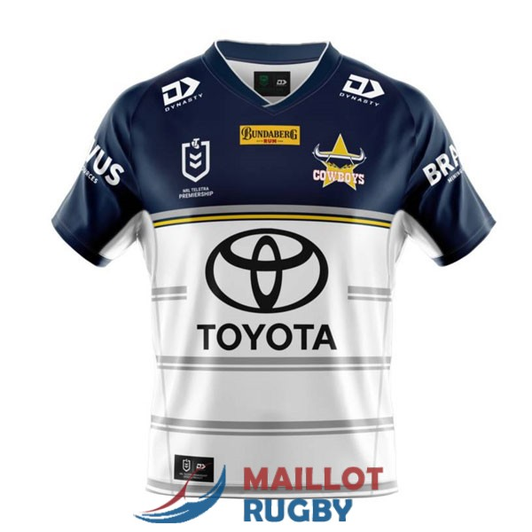 north queensland cowboys rugby maillot exterieur 2021