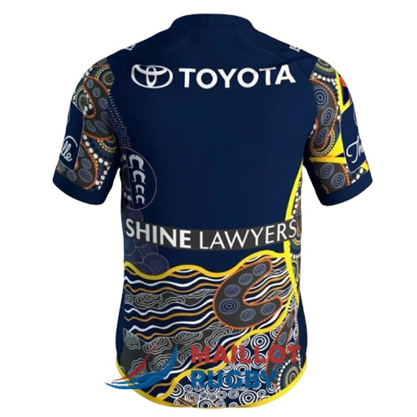 north queensland cowboys rugby maillot indigenous 2017