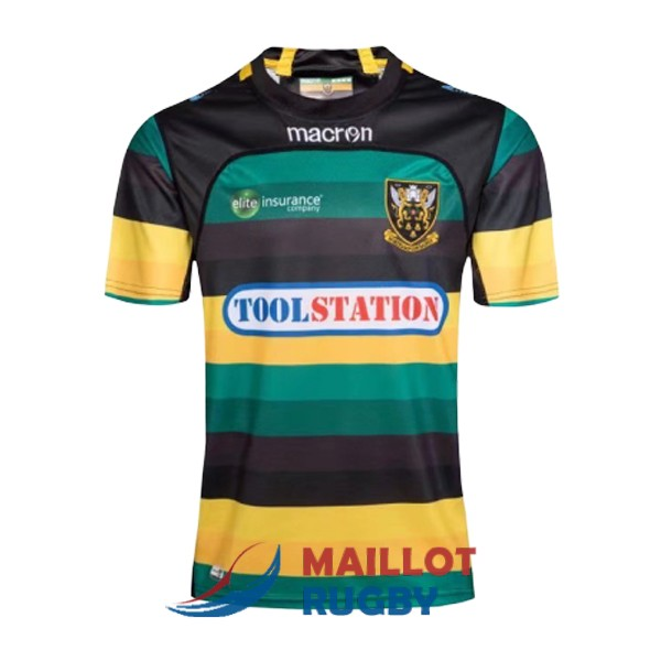 northampton saints rugby maillot domicile 2017-2018